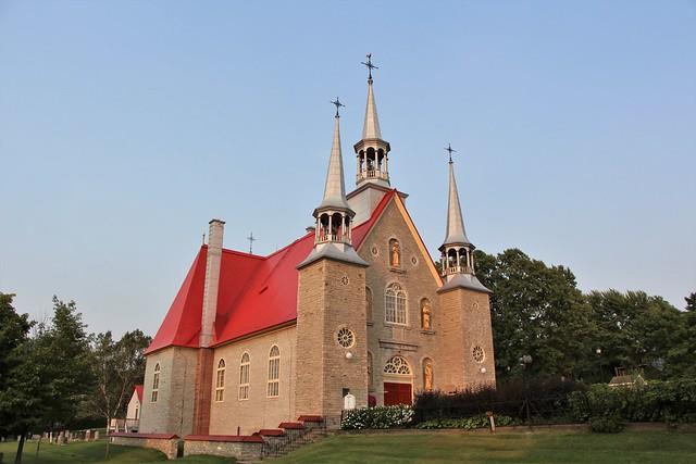 Église Sainte-Famille - Sainte-Famille-de-L'Île-d'Orléans, Québec