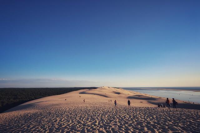 Sunset over the Dune du Pilat