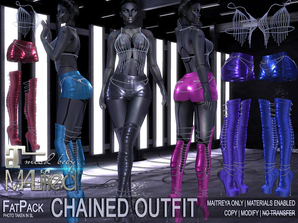 MALified – Chained Outfits – FatPack