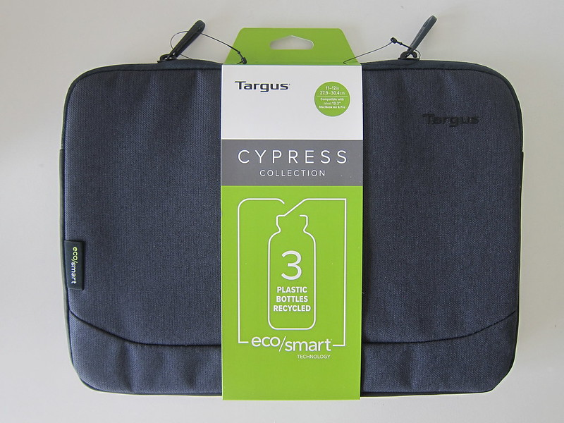 Targus Cypress EcoSmart 11 - 12 Inch Sleeve - Packaging - Front