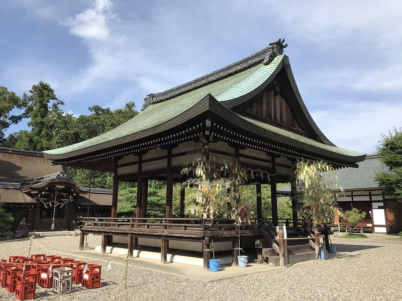 梅宮大社:神楽殿