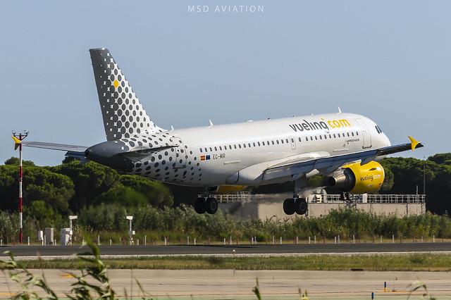 Airbus A319-112 EC-MIR Vueling