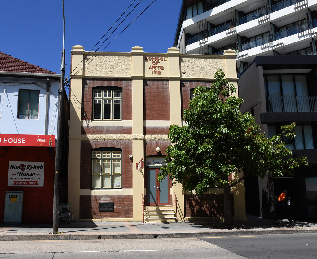 School of Arts, Ashfield, Sydney, NSW.