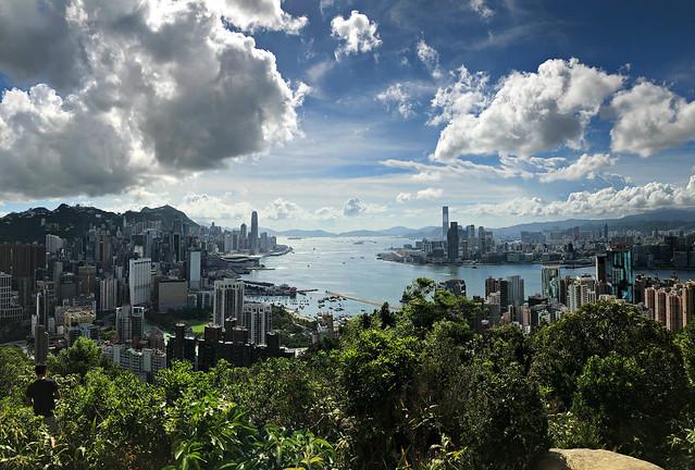 Clouds over Hong Kong