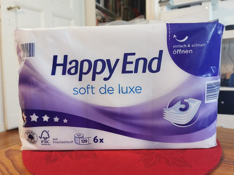 Happy End Toilet Paper