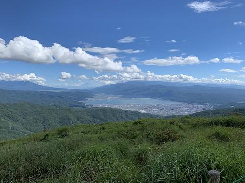 高ボッチ高原からの眺望