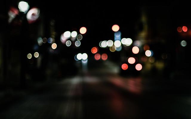 Happiness is... bokeh & blur