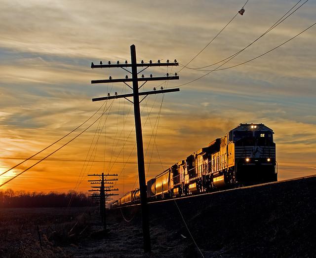 NS 2615, NS Chicago Line, Wawaka, Indiana
