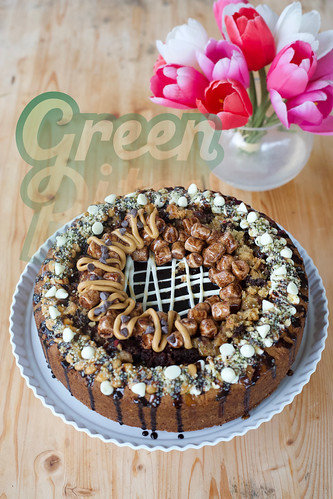PB SMORE'S FUDGE CHEESECAKE by Green Bites Cookies