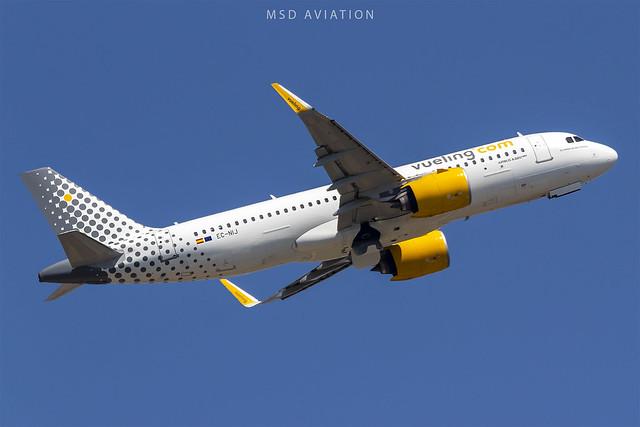 Airbus A320-271N EC-NIJ Vueling