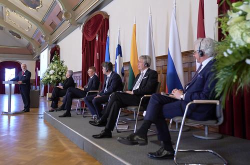 11.08.2020. Rīgas pilī svinīgi atzīmē Latvijas–Krievijas miera līguma parakstīšanas 100. gadadienu