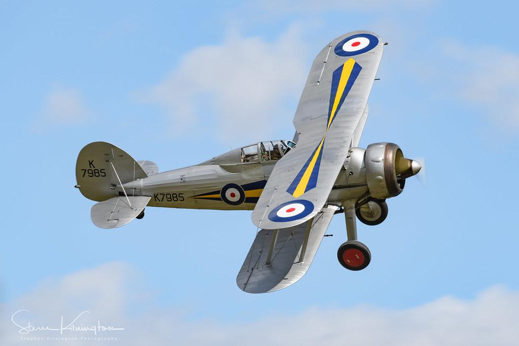 'K7985' G-AMRK - Gloster Gladiator I