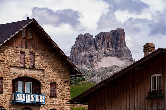 Le Dolomiti sul tetto.