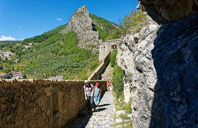 Entrevaux / Ascent to the Vauban Citadel