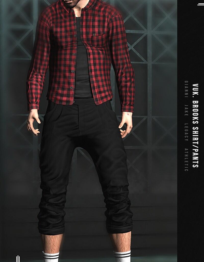 Vuk - Brooks pants @ equal10