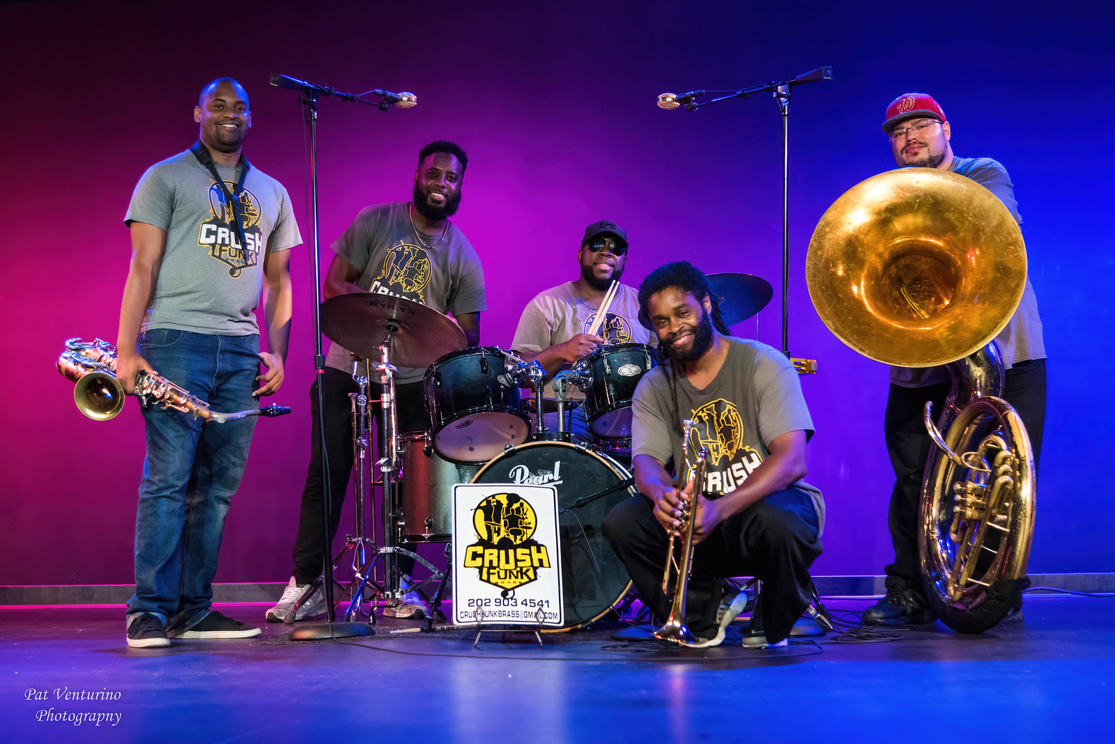 Crush Funk Brass Band Concert
