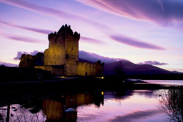 Ross Castle, Killarney National Park, Co Kerry