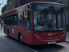 A tiny, hidden away route with two H&R sections and a contract change for next year. | Go-Ahead London ADL Enviro 200 Dart 8.9m on the 315 to Balham.