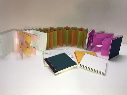 Accordion Fold books