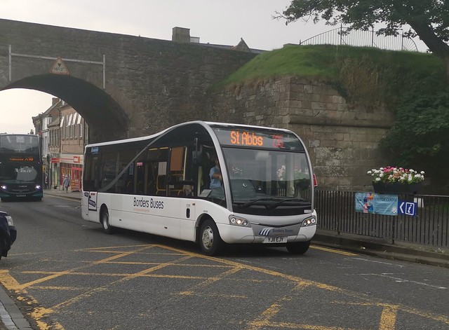 Borders Buses Optare Solo SR YJ11EJY 11103