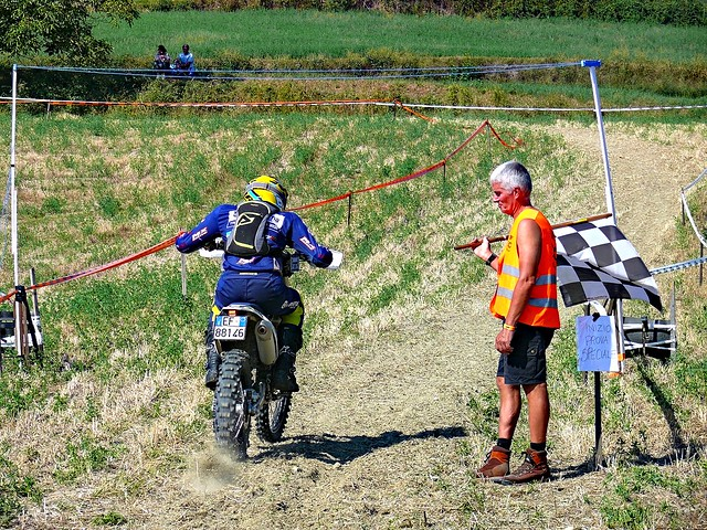 partenza p.s. cross test (foto 2°)