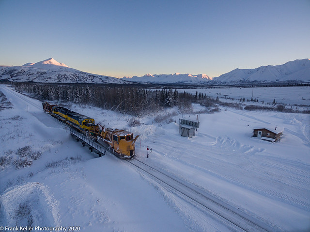 Snow Fleet Aerial