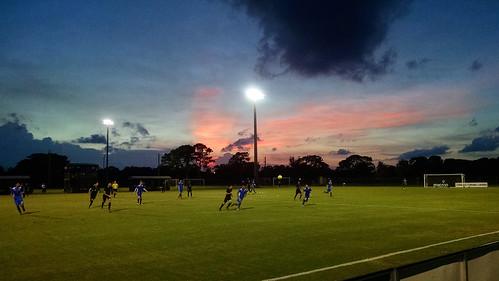 miami miamifl miamigardens miamifc miamifootballclub soccer futbol football match pitch grass sunset field goal florida fl usa