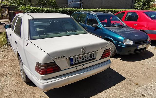 1993 Mercedes-Benz E200 Diesel & 1997 Opel Corsa Caravan 1.7D