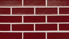 Cranberry Glaze Smooth Texture red Brick