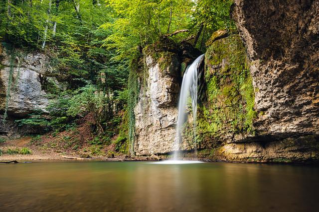 Wasserfall Giessen Zeglingen