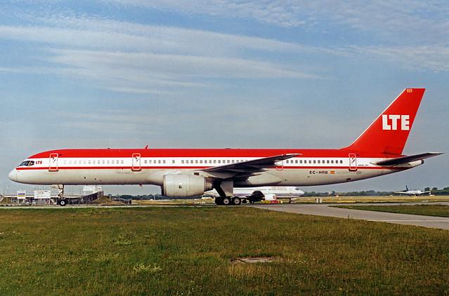 LTE Boeing 757-200 EC-HRB