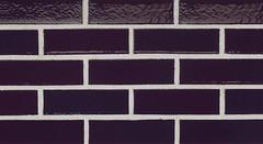 Eggplant Glaze Smooth Texture purple Brick