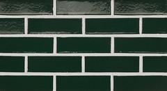 Forest Glaze Smooth Texture green Brick