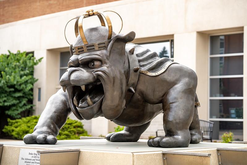 Public Art at JMU: Duke Dog