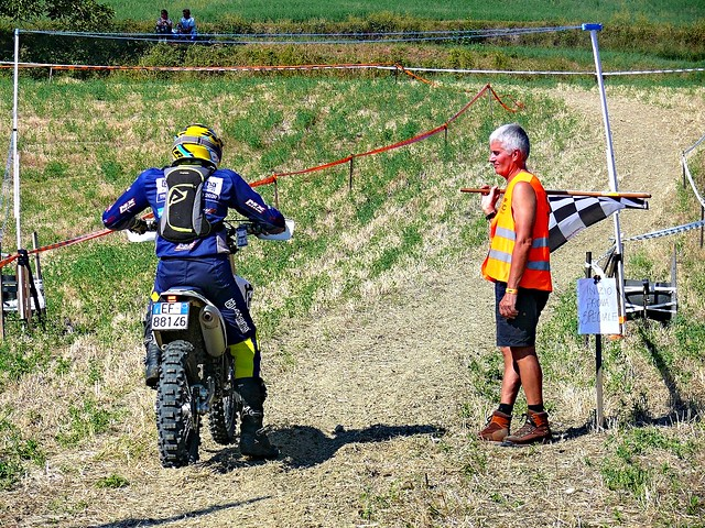 partenza p.s. cross test (foto 1°)