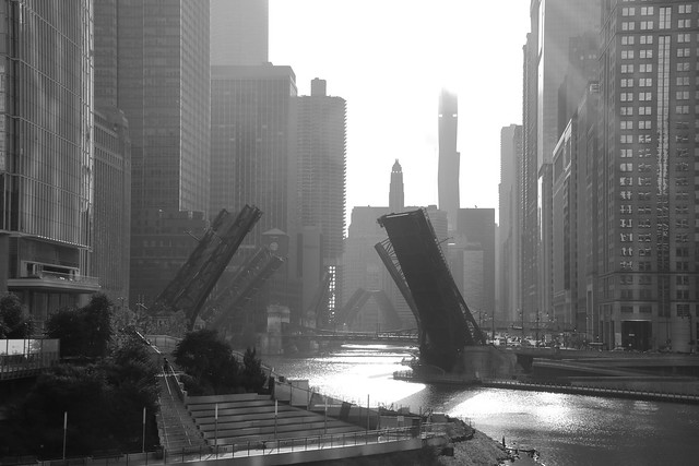 Chicago   a 2020 morning