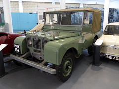 1948 Land Rover Series 1 - HUE 166 - British Transport Museum Gaydon 11Aug20