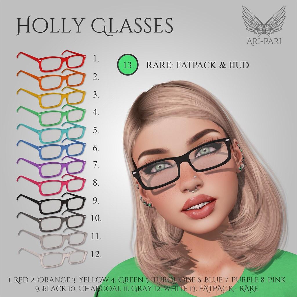 [Ari-Pari] Holly Glasses Gacha