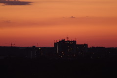 NEOWISE Skyline #3: Dusk Appartments