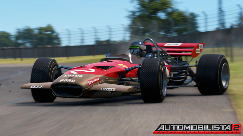 Automobilista 2 - Classic Lotus 49C Gran Prix Car