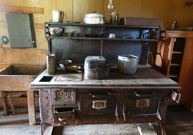 Kitchen Wood-Burning Cookstove