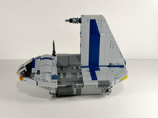 Lego star wars Separatist shuttle moc