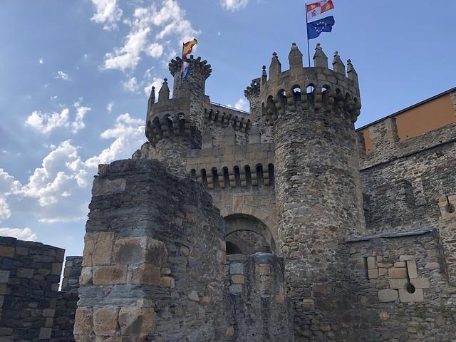 Castillo de Ponferrada (El Bierzo, León)