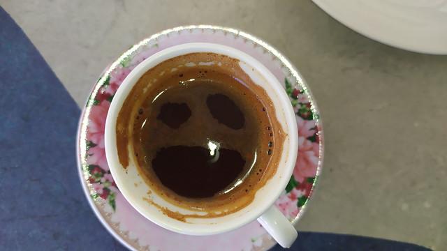 Happy or Sad greek coffee ??????