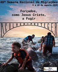 Dia Mundial do Migrante e Refugiado 2020 : «Forçados, como Jesus Cristo a Fugir»