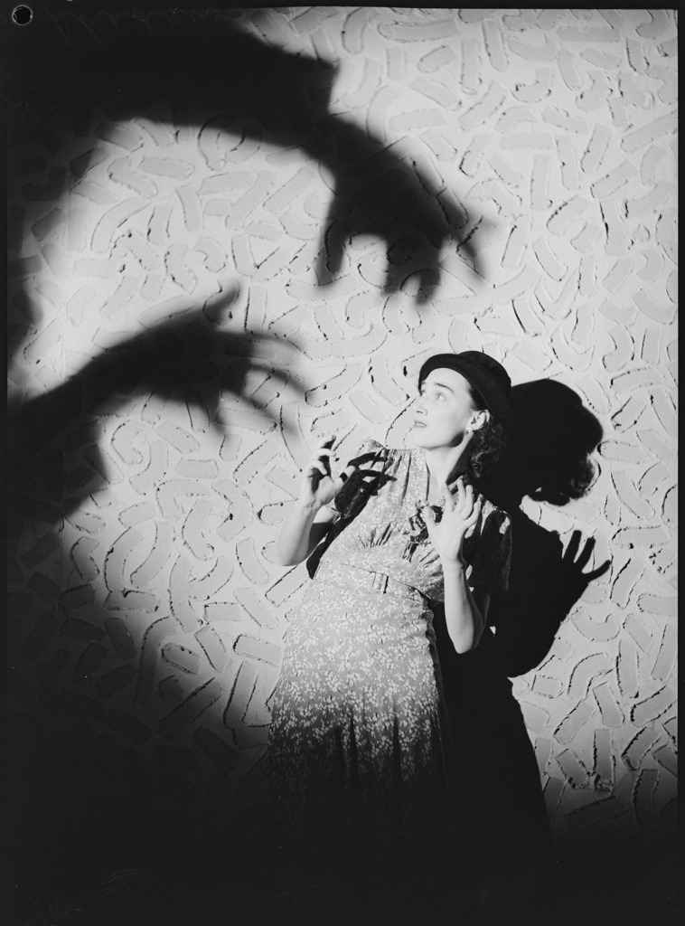Gwen Brown, Balalaika ballerina in Shadow series, 1938 by PIX photographer Ivan