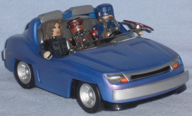 MiniMates - Captain America Team Roadtrip
