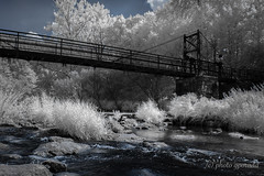 Infrared - Black Forest - Nagold River