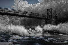 Infrared - Black Forest - Nagold River