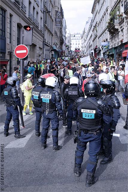 Acte XXXXII des Gilets jaunes ✔ Paris le 31 aout 2019 IMG190831_113_©2019   Fichier Flickr 1000x667Px Fichier d'impression 5610x3740Px-300dpi